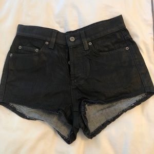 CARMAR dark denim shorts from LF size 27